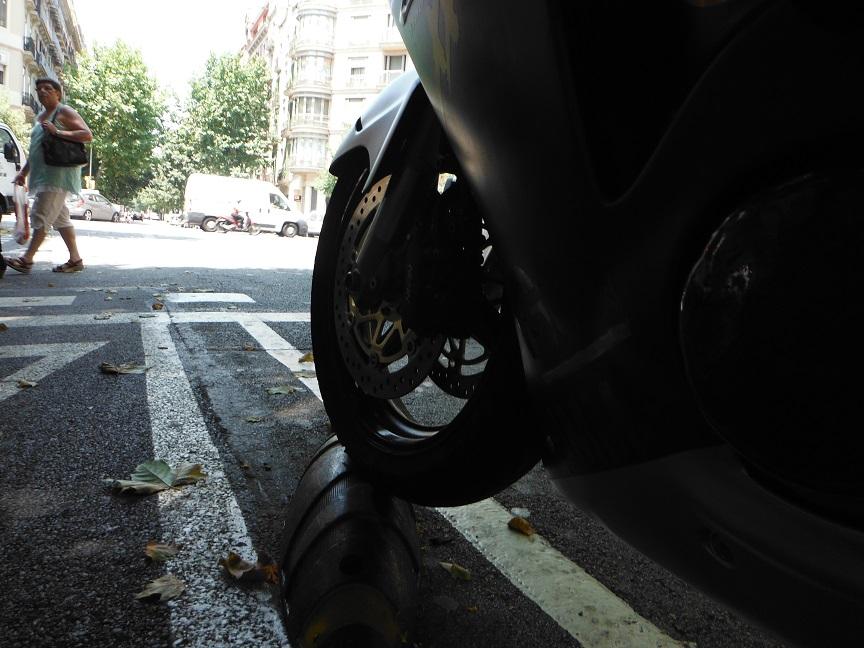 Accidentalidad motoristas Barcelona