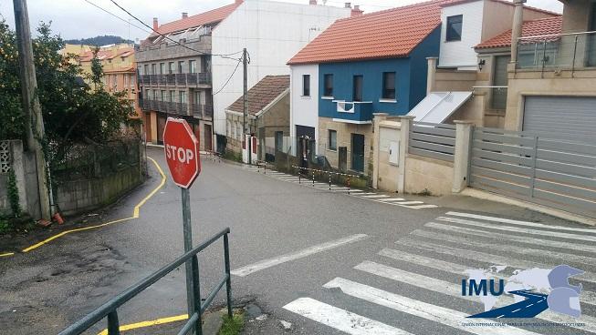 Denunciada situación Rúa da Garita en Cangas (Pontevedra)